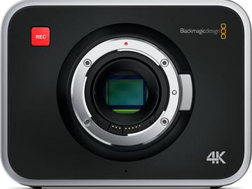 Rent: Blackmagic 4K Production Camera EF