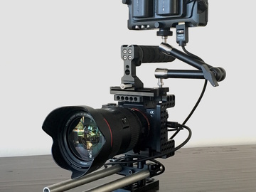 Rent: Sony A7s II with Cage, Monitor, Canon 24-70 II, and Tripod